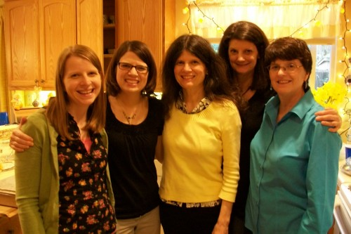 The Koefod Women at Easter Brunch